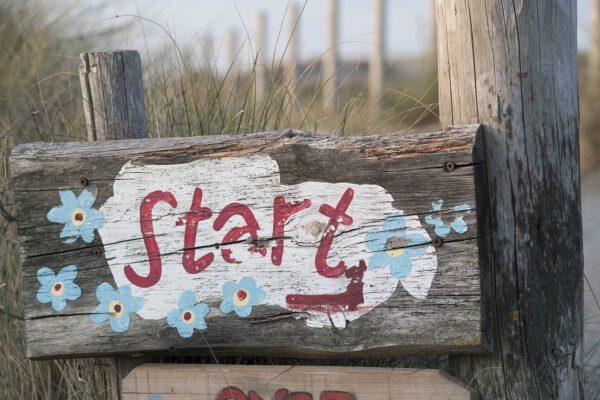 start, beach, summer